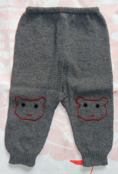 编织儿童(1—3岁)羊绒毛衣
