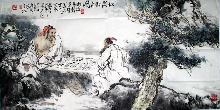 当代潜力画家(时育林)动物国画作品[中国投资资讯网]