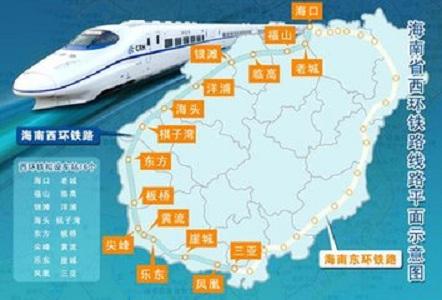 网上广泛称呼是环岛高铁,海南高铁,可是,中国高速铁路一直规定是时速